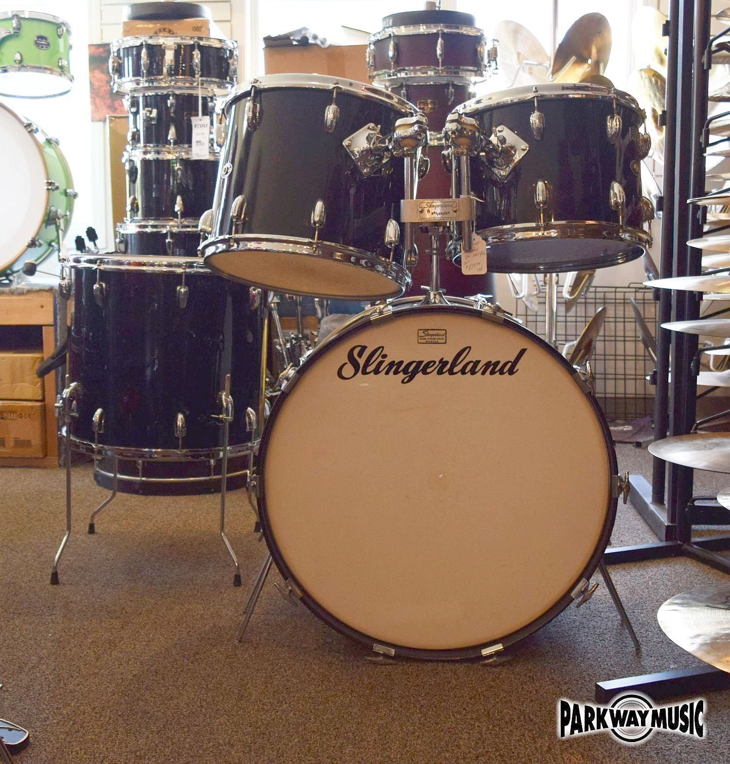 Slingerland Vintage 1970 Drum Set 4 pc Shell Pack (USED)