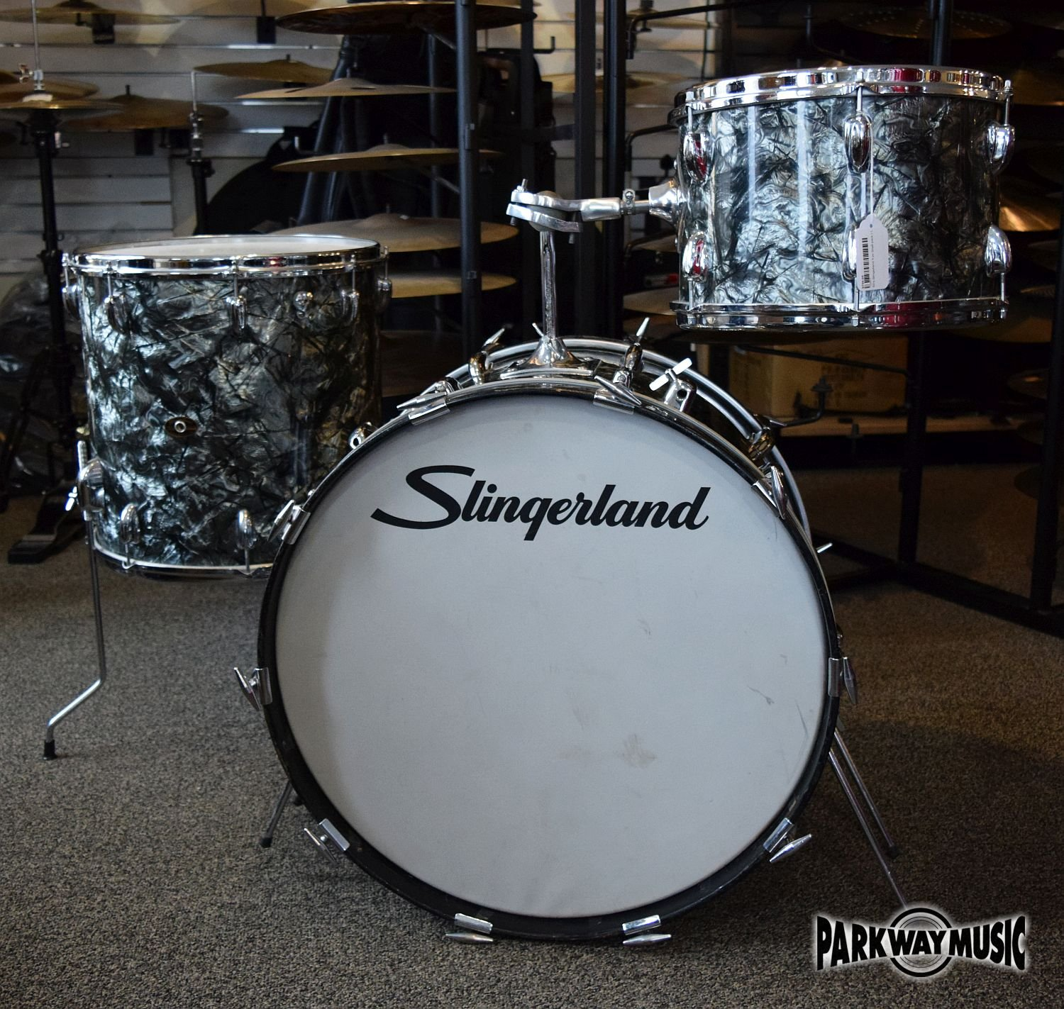 60's Slingerland 3 pc Shell pack ( USED)