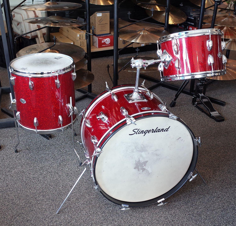 Slingerland 3pc Vintage Drum Set (USED)