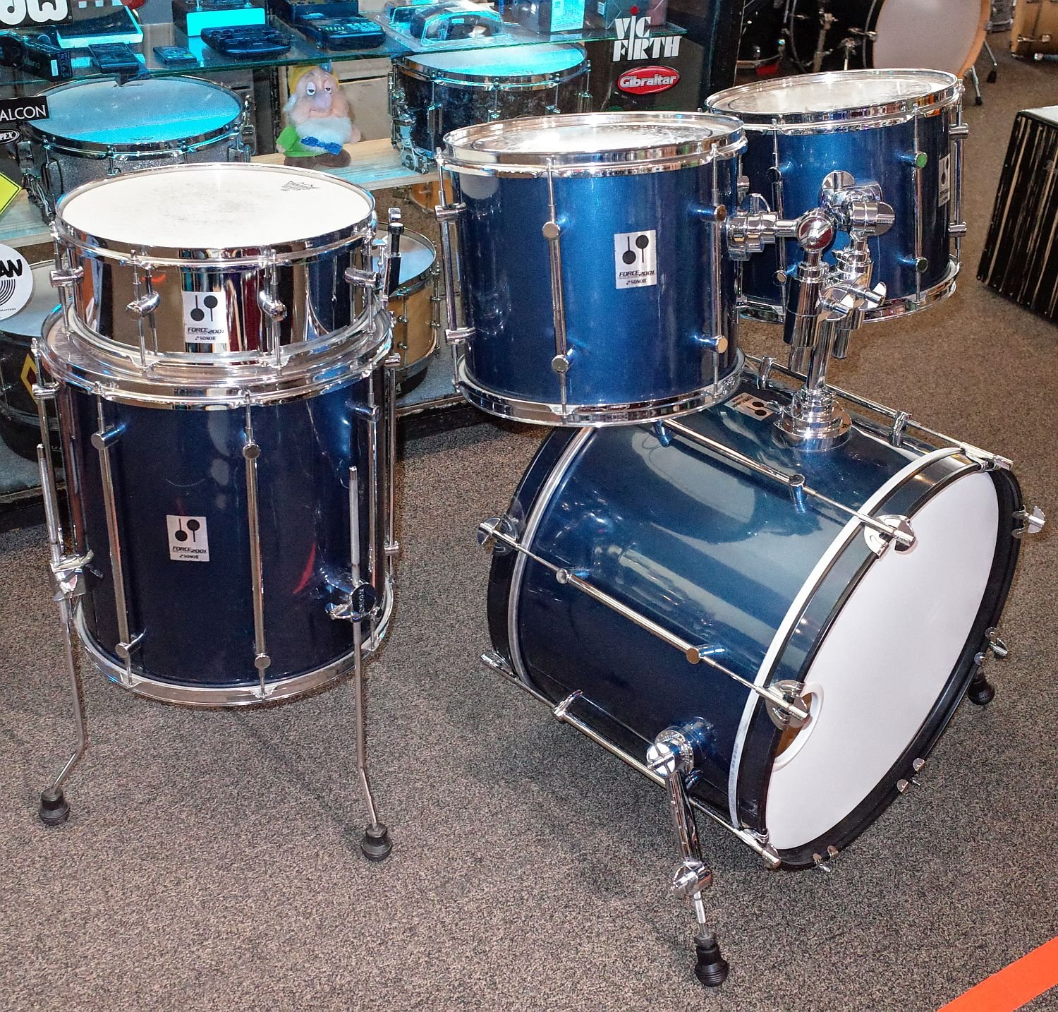Sonor Force 2001 5pc drum set (USED)