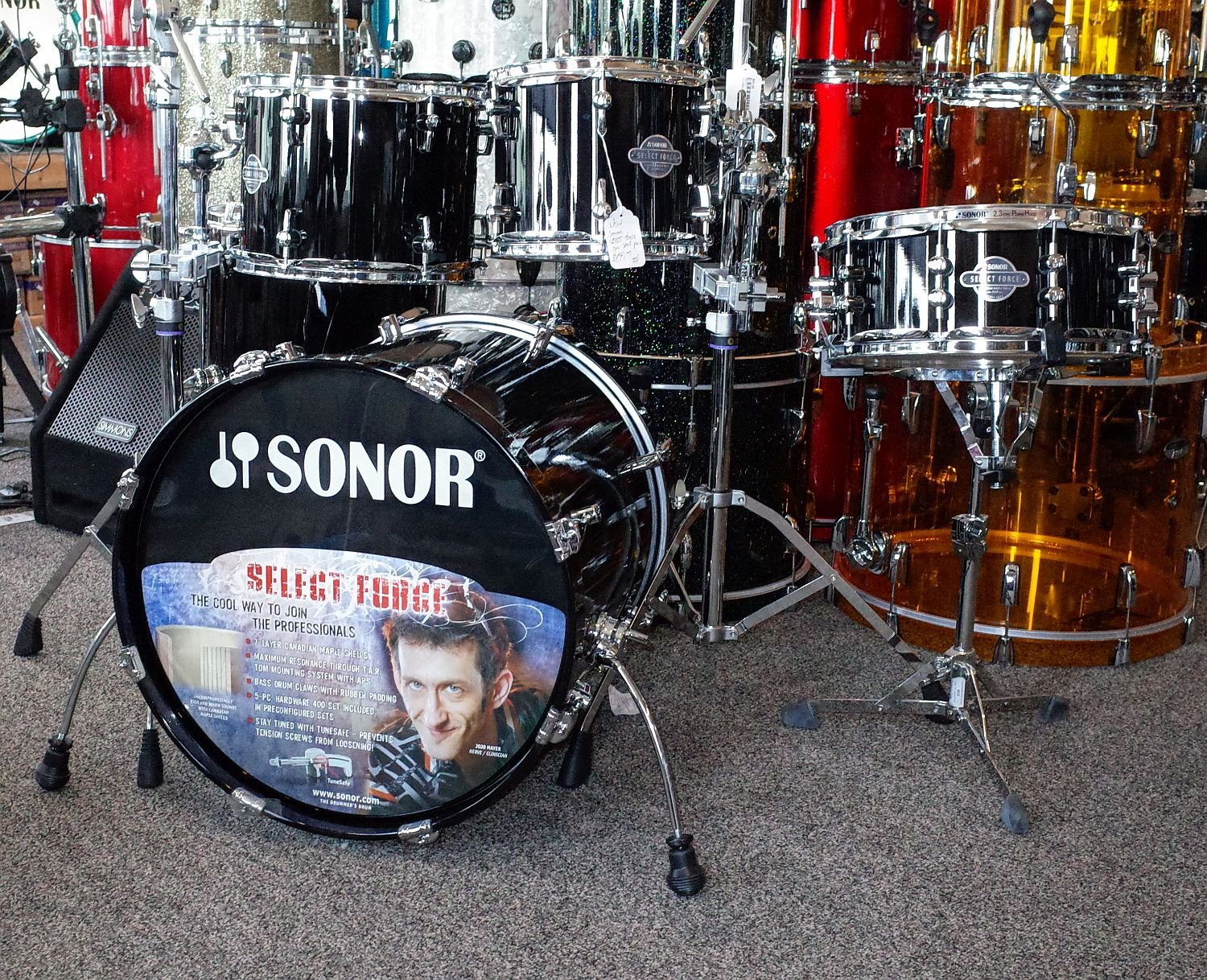 Sonor Select Force 5pc Maple Shell Pack