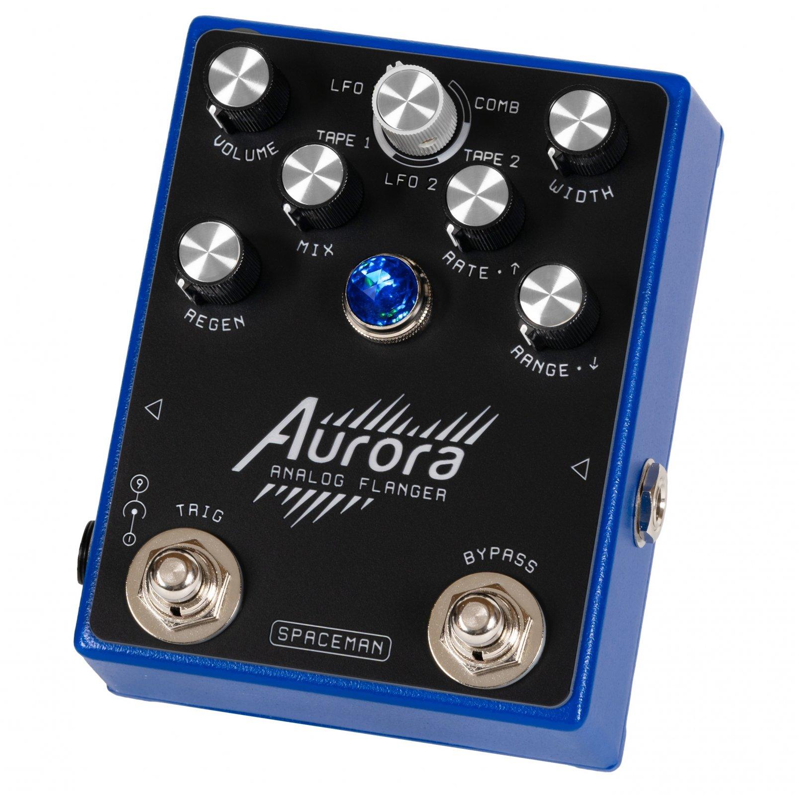 Spaceman Effects Aurora Analog Flanger - Blue