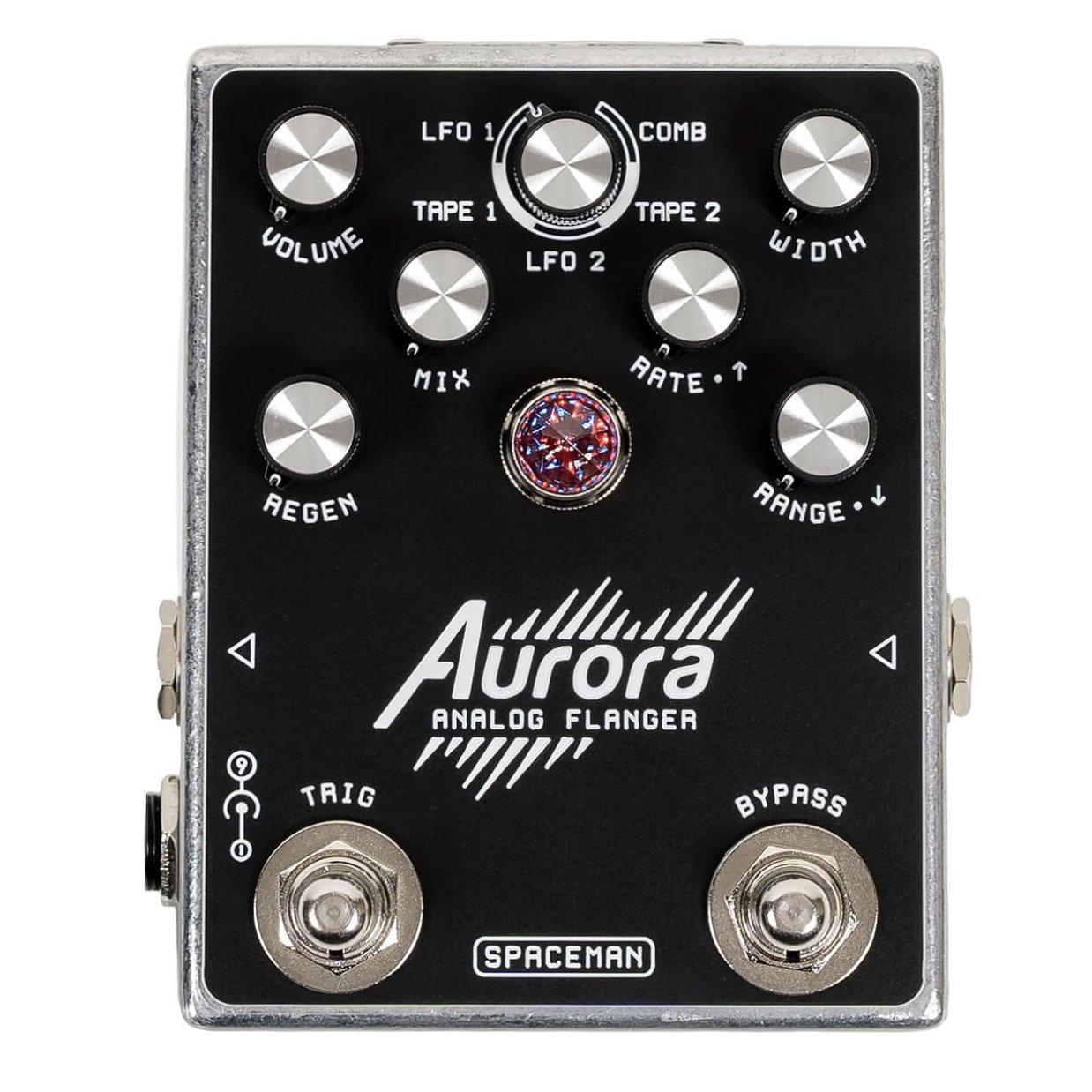 Spaceman Effects Aurora Analog Flanger - Silver