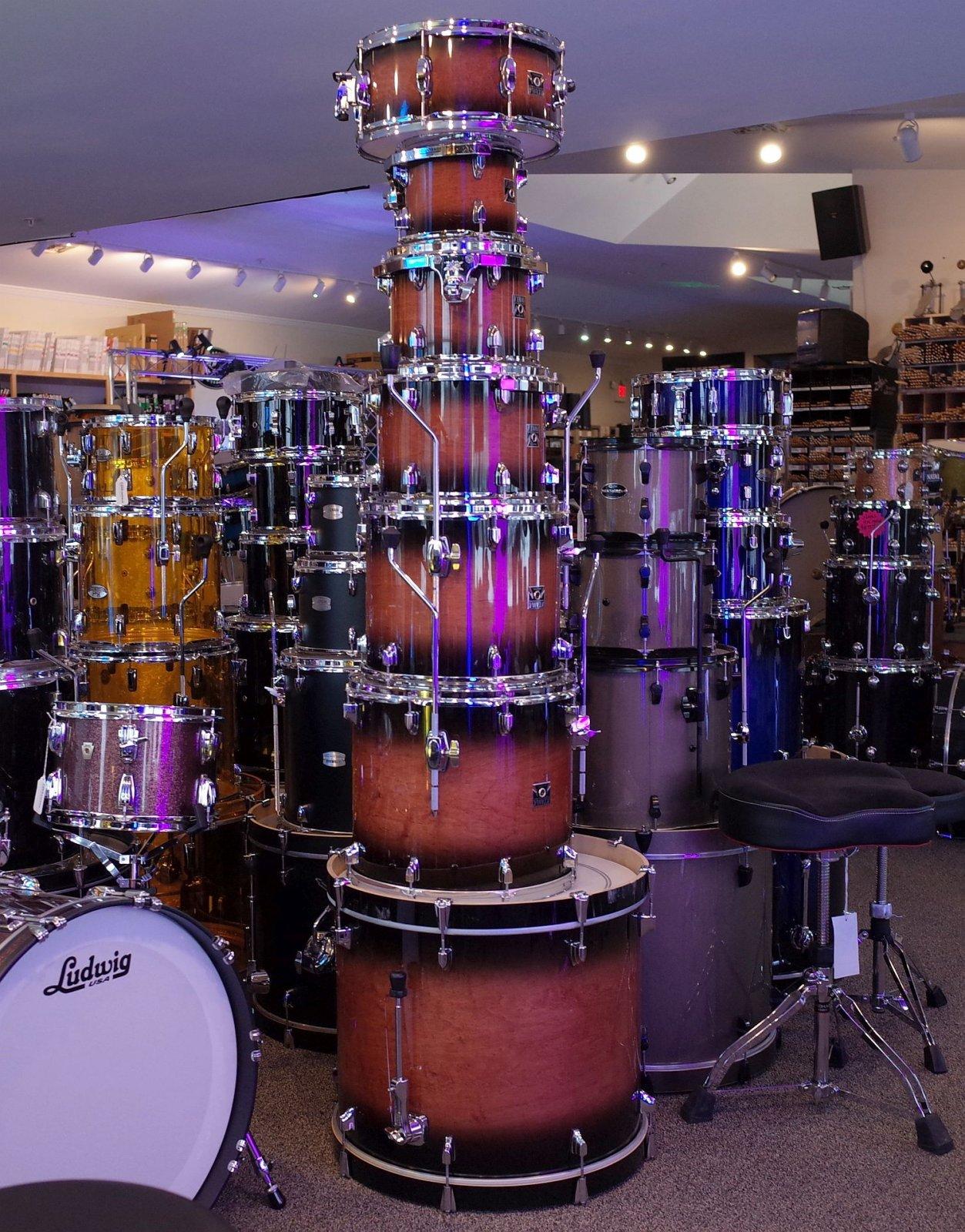 Tama Superstar 7pc Drum Set - (USED)