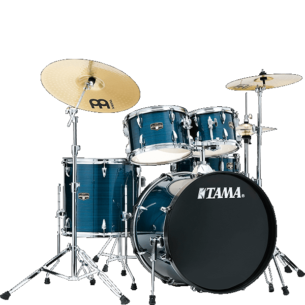 Tama Imperialstar 5pc Drum Set IP50C - HBL Hairline Blue
