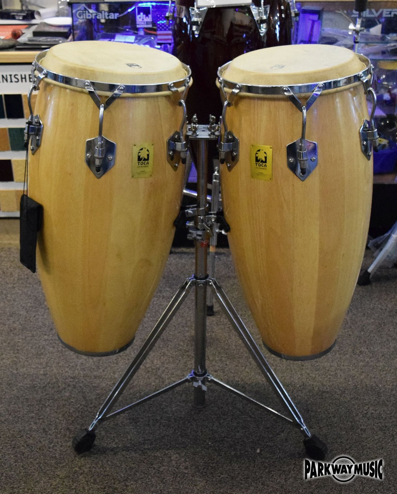 Toca Professional Series Conga Drums (USED) SOLD