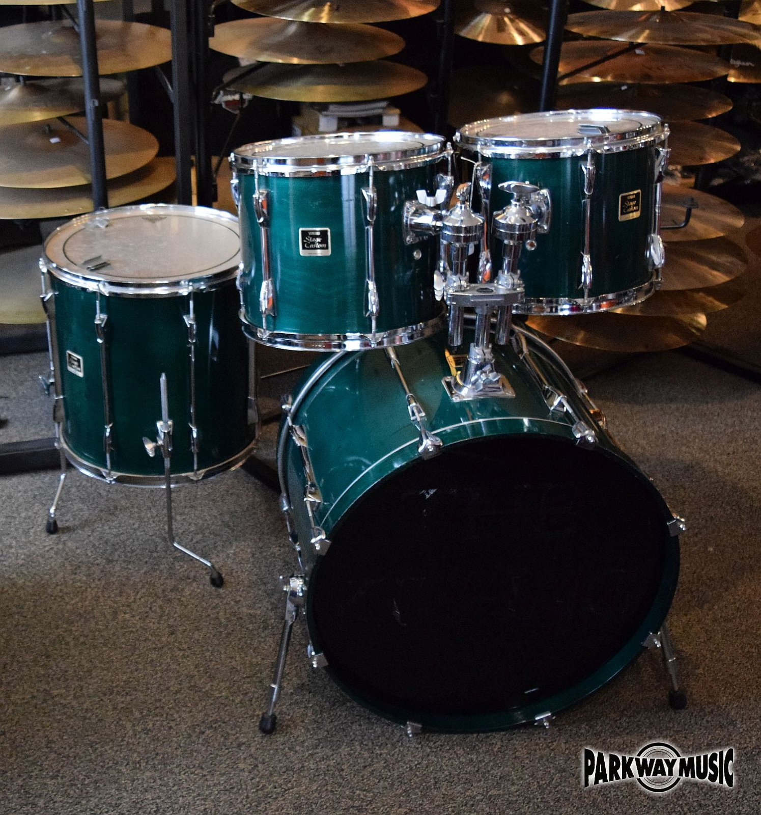 Yamaha Stage Custom Drum Set