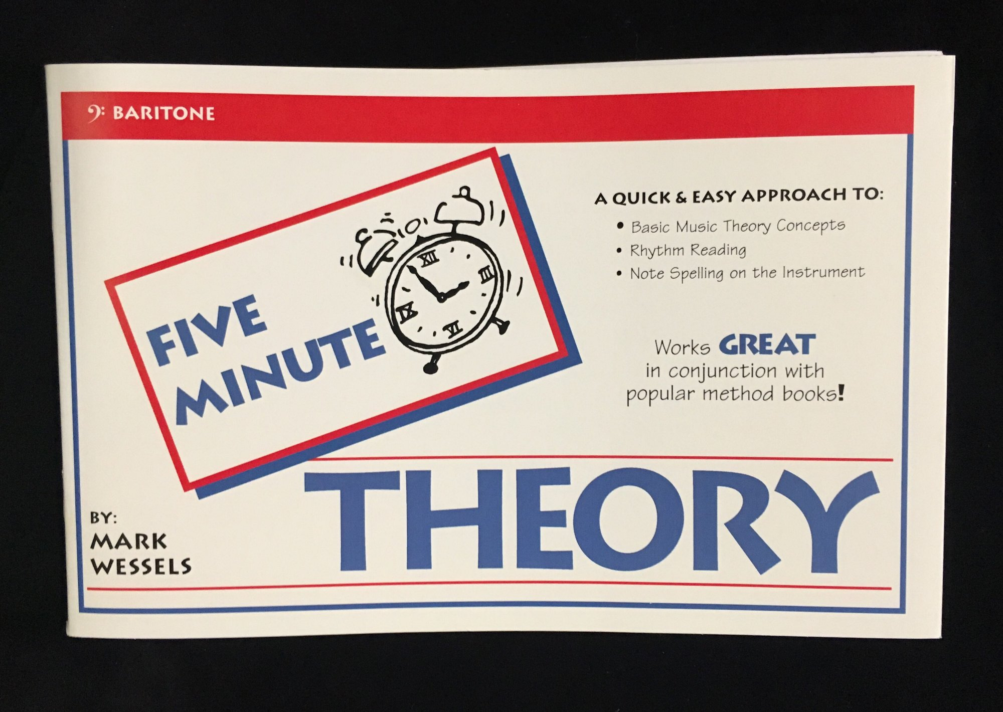 Five Minute Theory - Baritone, Book 1 by Mark Wessels