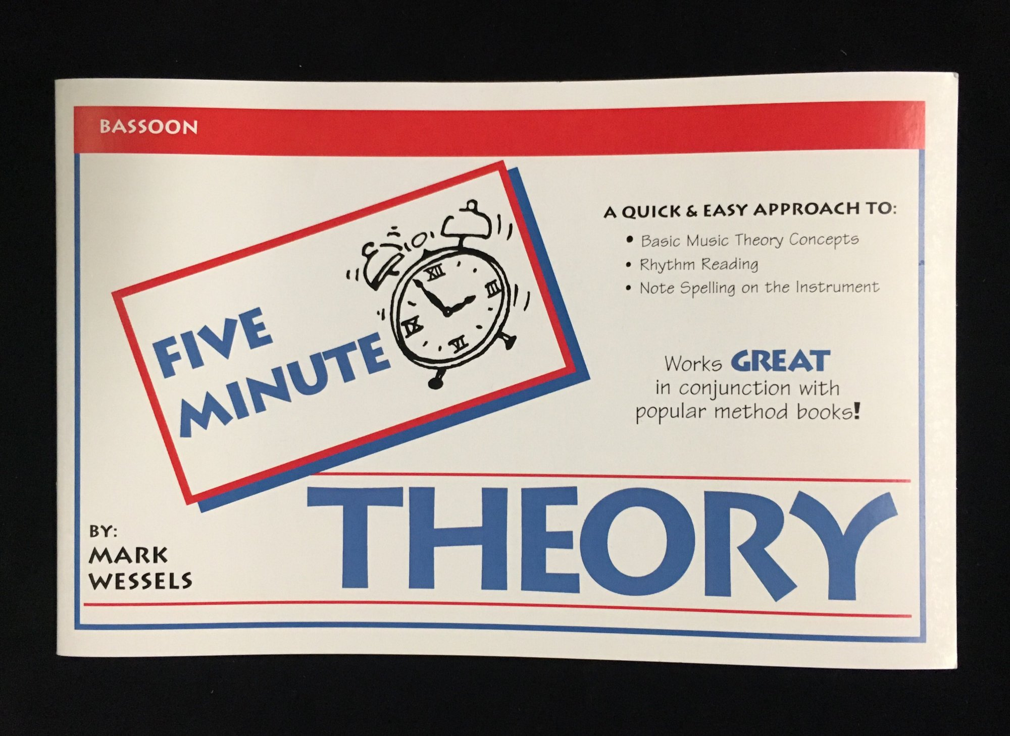 Five Minute Theory - Bassoon, Book 1 by Mark Wessels