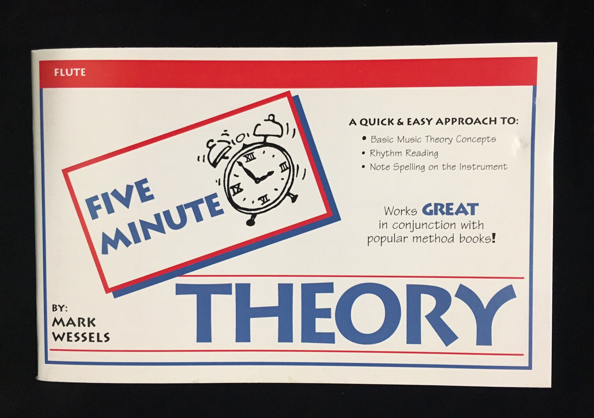 Five Minute Theory - Flute, Book 1 by Mark Wessels