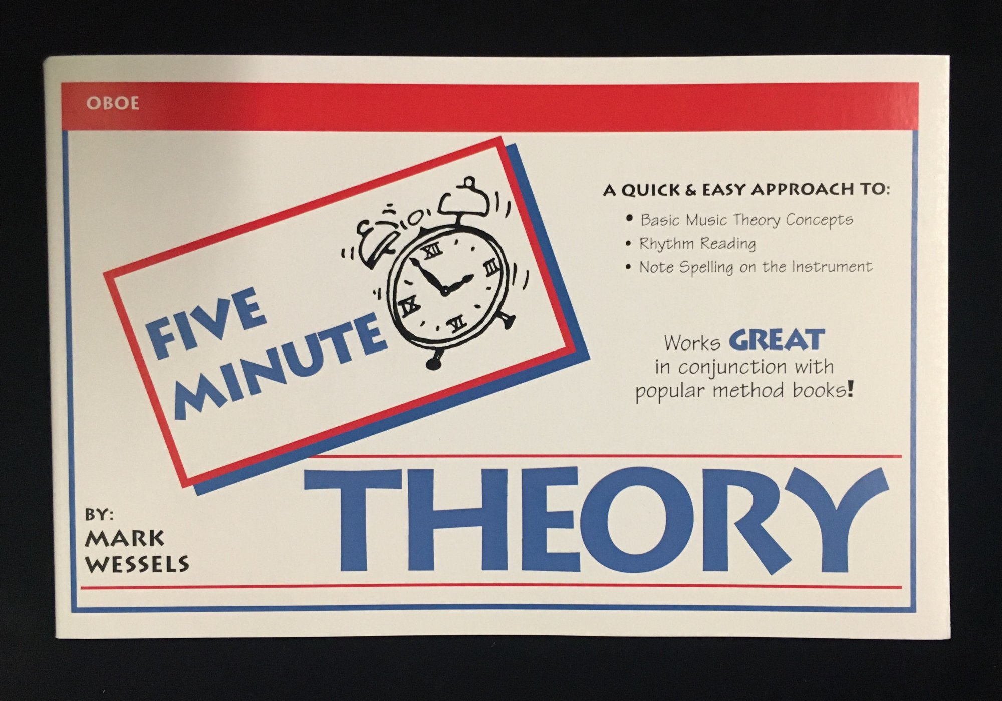 Five Minute Theory - Oboe, Book 1 by Mark Wessels