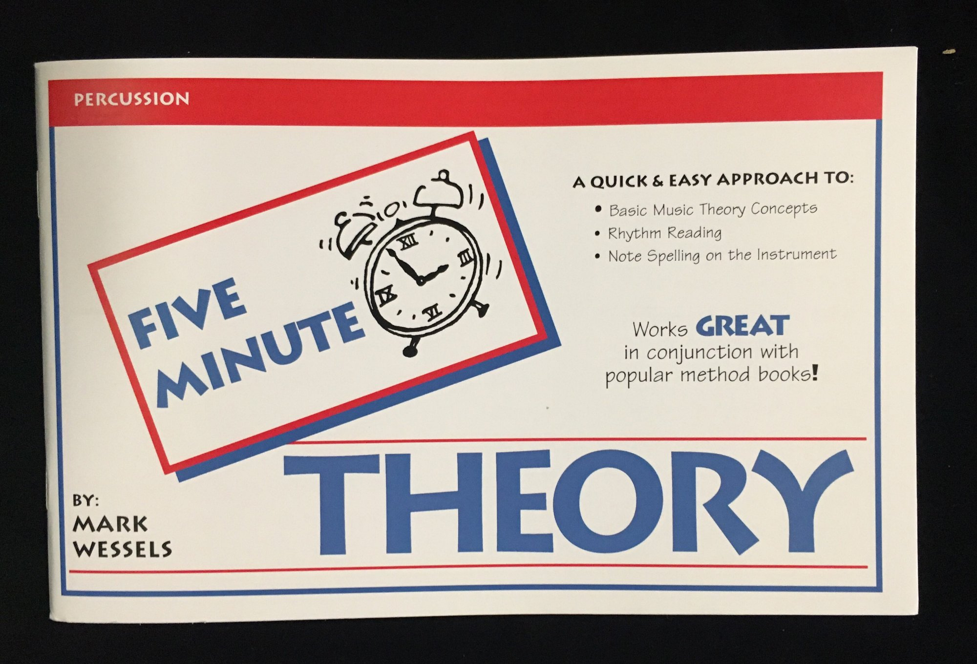 Five Minute Theory - Percussion, Book 1 by Mark Wessels