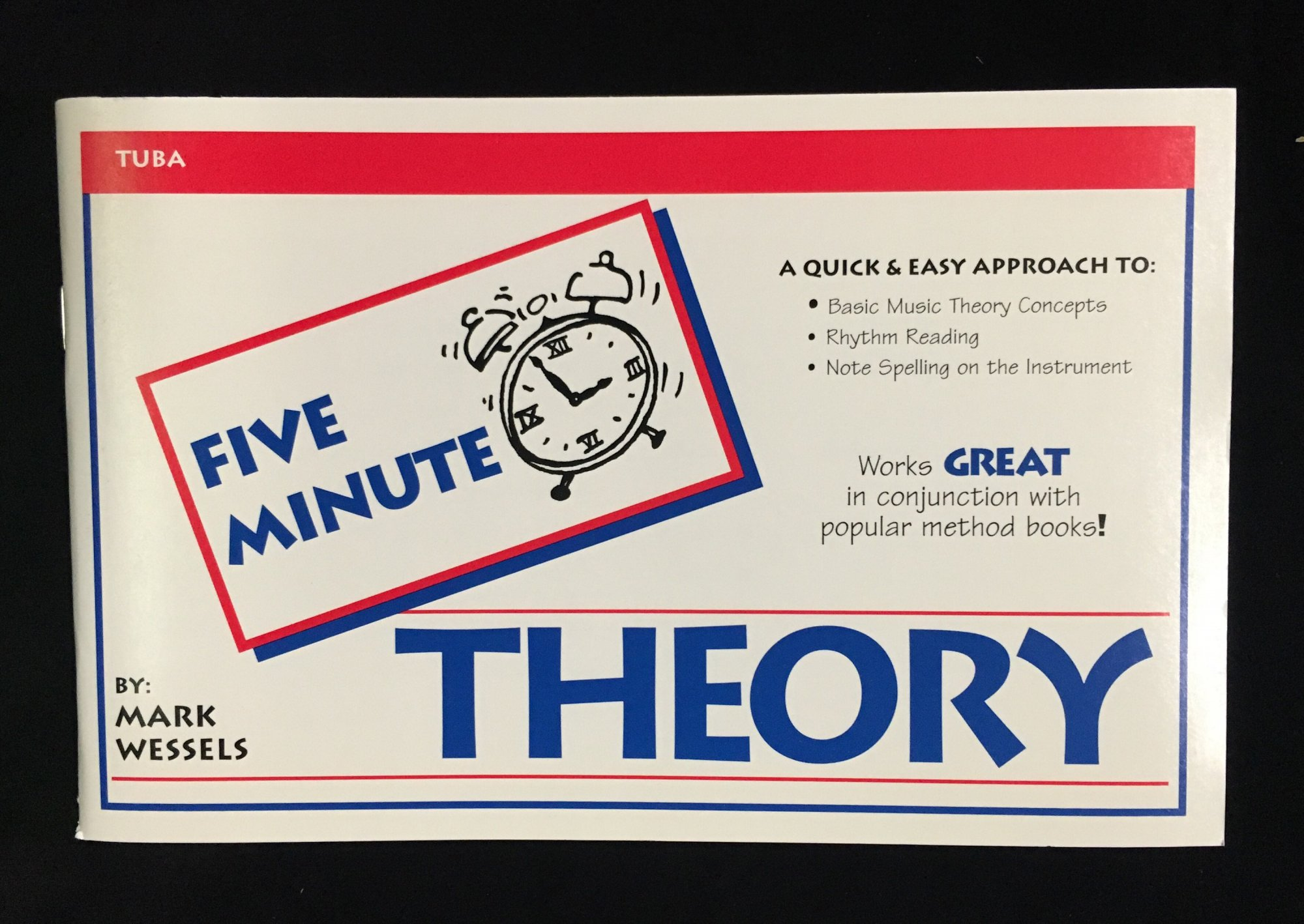 Five Minute Theory - Tuba, Book 1 by Mark Wessels
