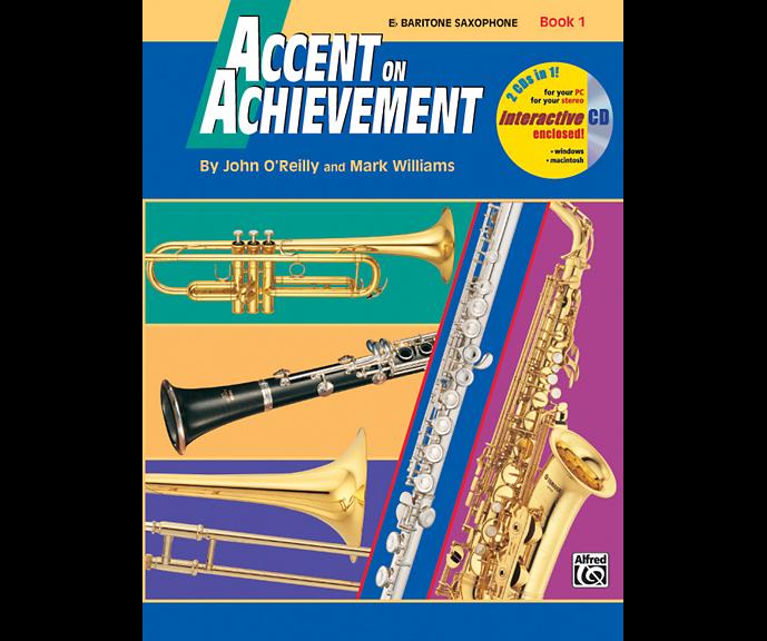 Accent on Achievement, Book 1 - Eb Baritone Sax
