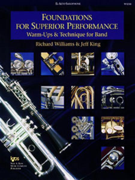 Foundations for Superior Performance - Eb Alto Saxophone