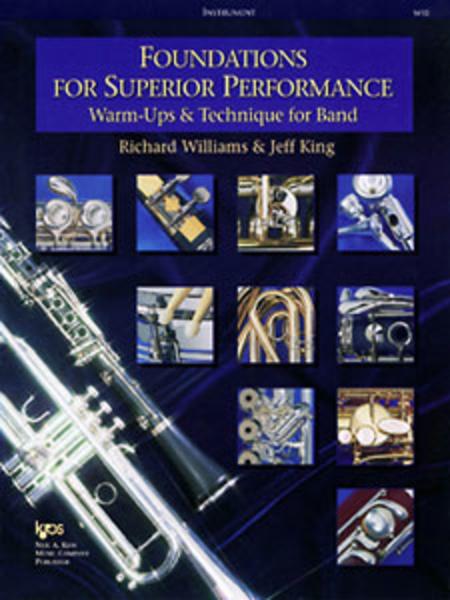 Foundations for Superior Performance - Eb Bari Saxophone