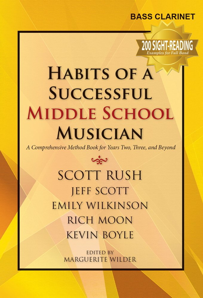 Habits of A Successful Middle School Musician - Bb Bass Clarinet