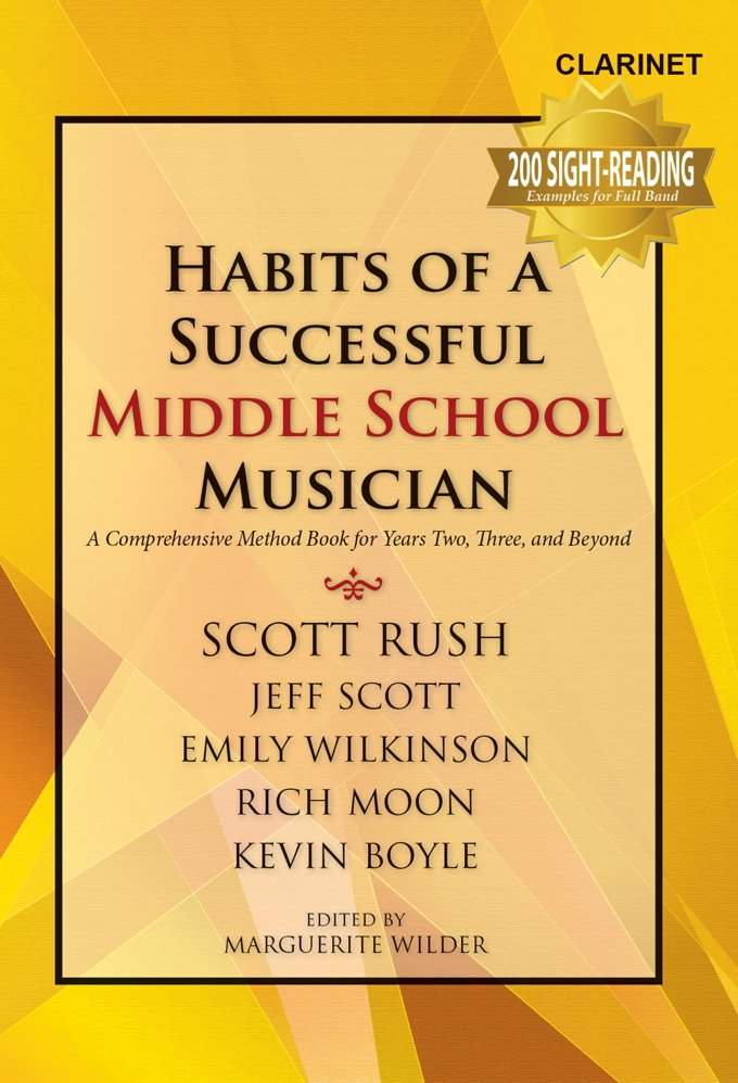 Habits of A Successful Middle School Musician - Bb Clarinet