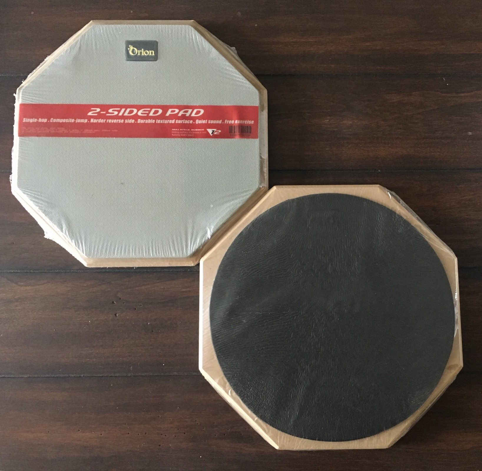 Orion 12 2-Sided Drum Pad - Gray