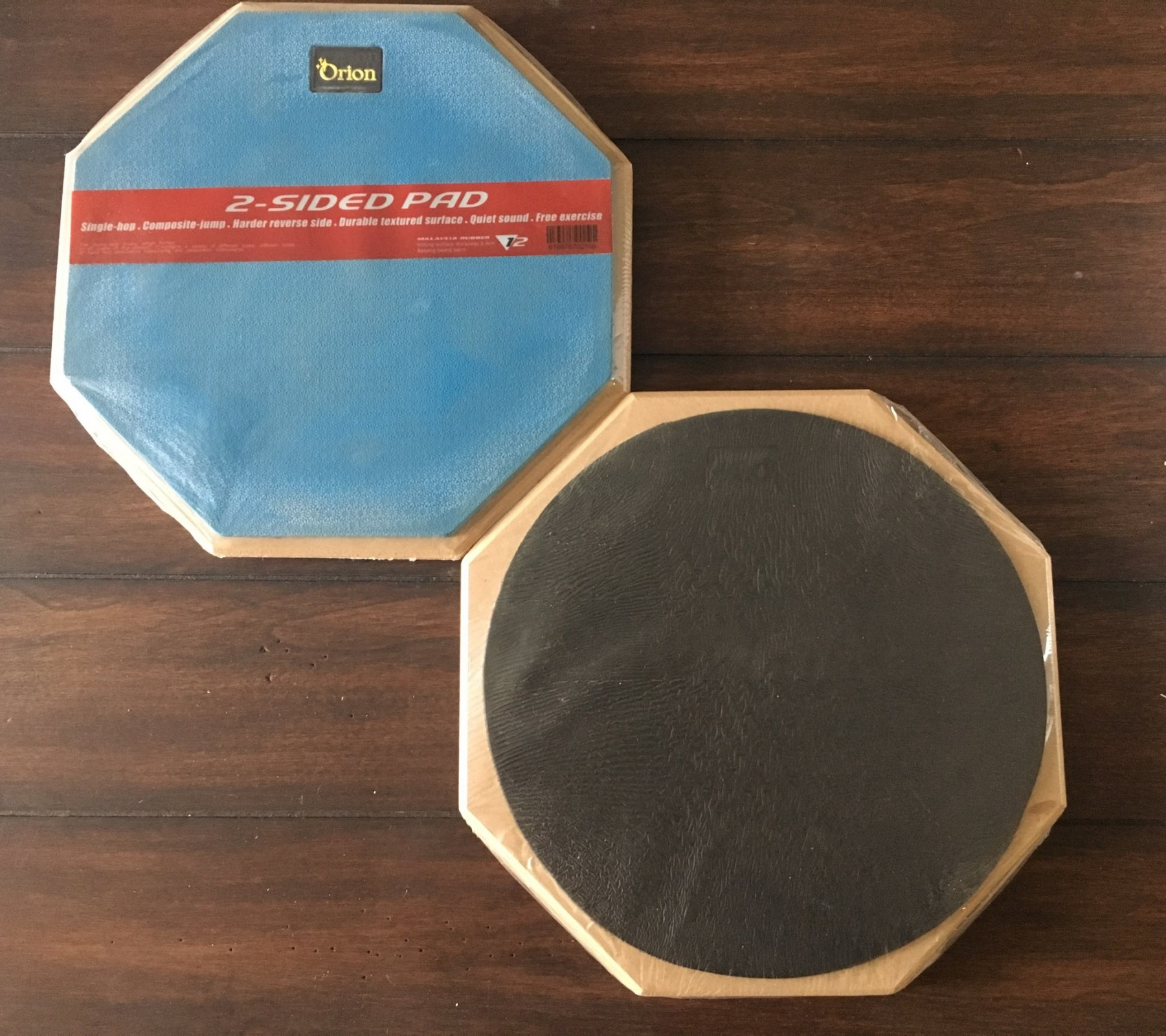Orion 12 2-Sided Drum Pad - Blue