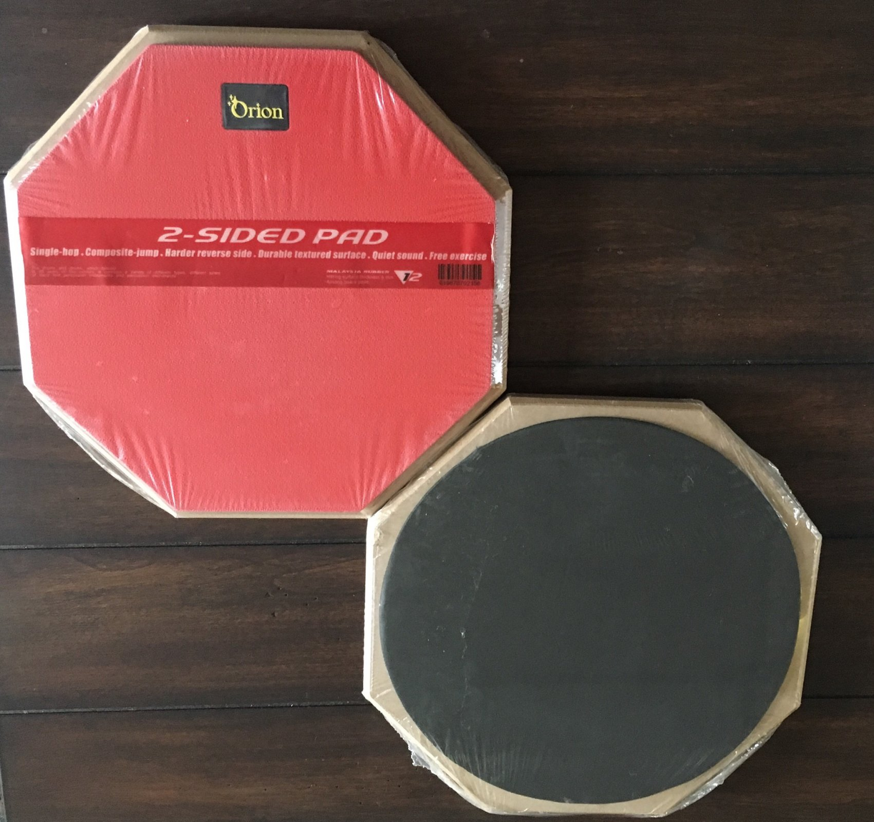 Orion 12 2-Sided Drum Pad - Red