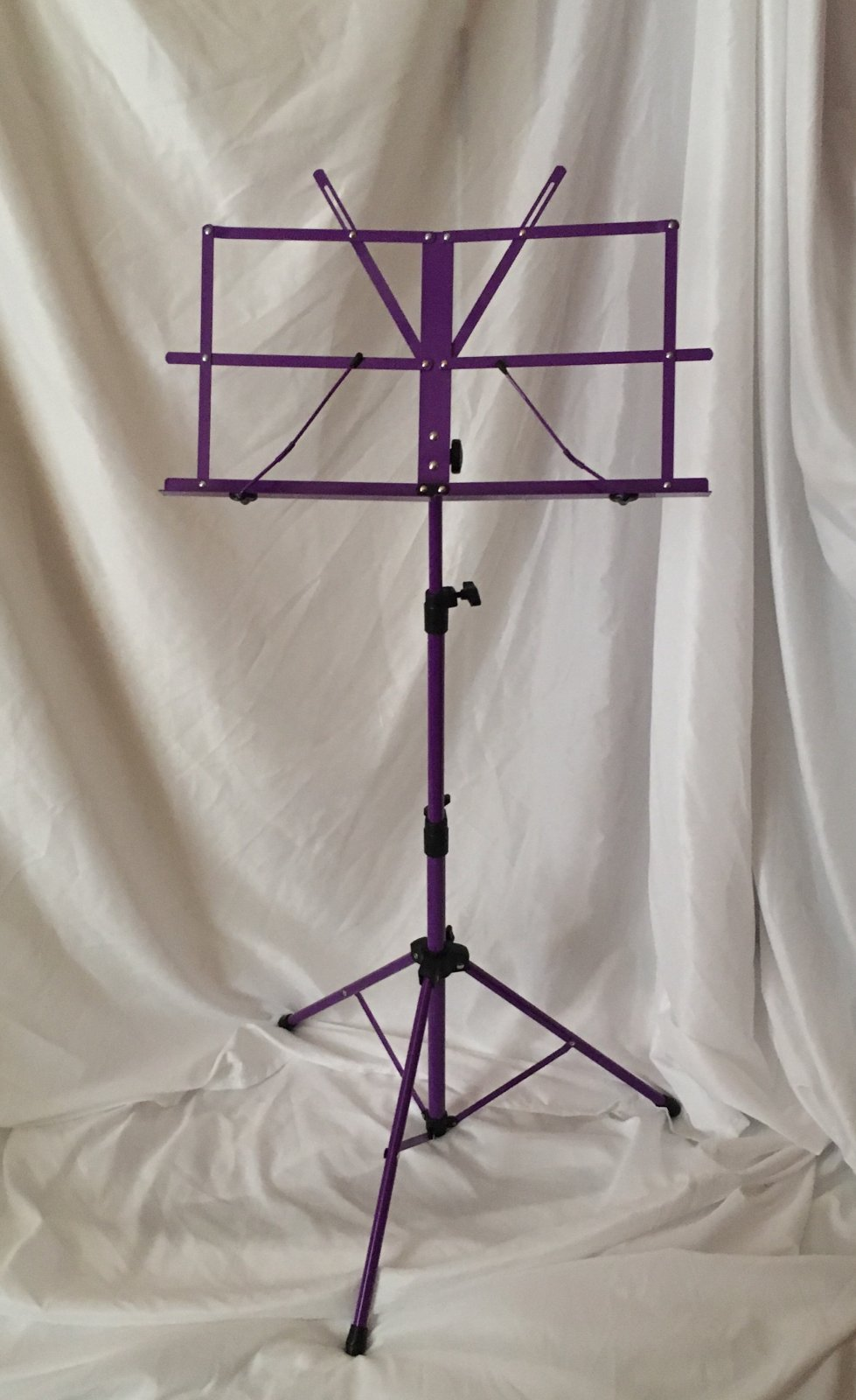 Orion Folding Music Stand (Purple) with Case