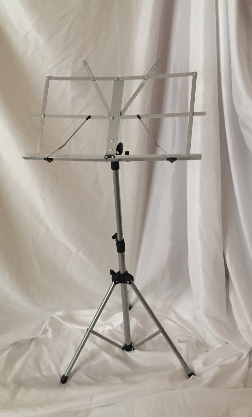 Orion Folding Music Stand (Gray) with Case