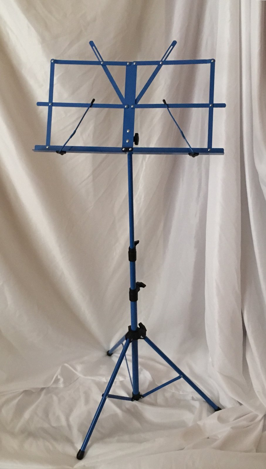 Orion Folding Music Stand (Blue) with Case