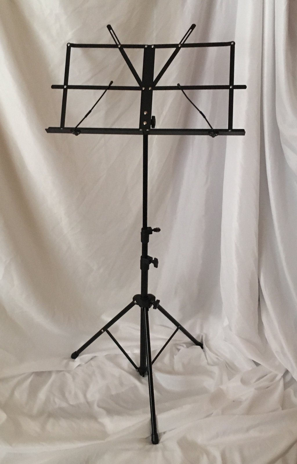 Orion Folding Music Stand (Black) with Case