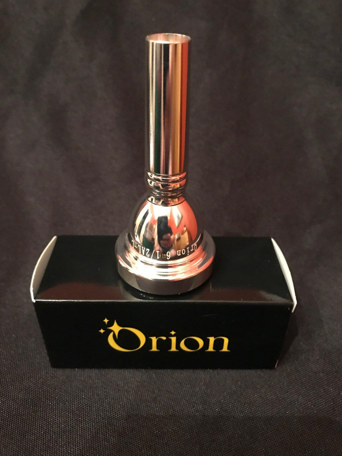 Orion Trombone/Baritone Mouthpiece, Small Shank 6 1/2 AL