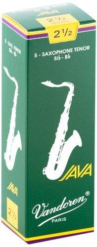 Vandoren Java Bb Tenor Saxophone Reeds #2.5, Box of 5