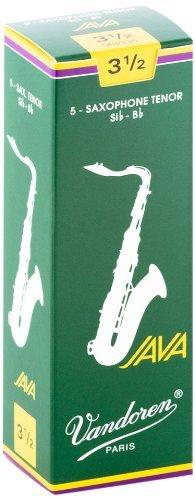 Vandoren Java Bb Tenor Saxophone Reeds #3.5, Box of 5