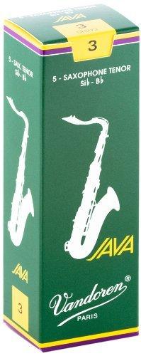 Vandoren Java Bb Tenor Saxophone Reeds #3, Box of 5