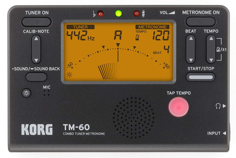 Korg TM-60 Tuner & Metronome
