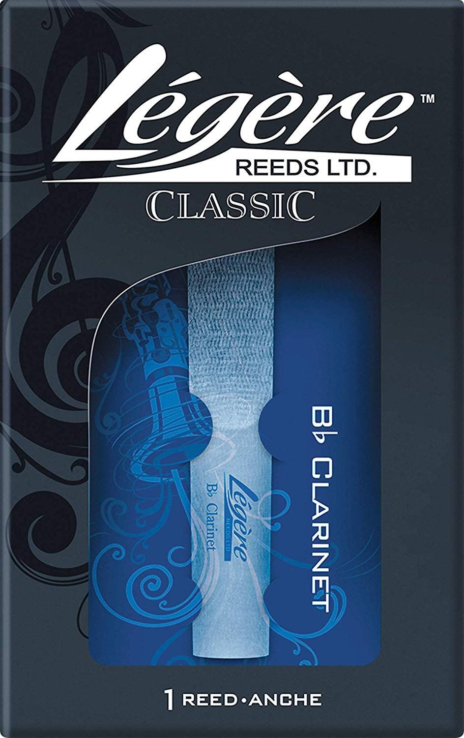Legere Bb Clarinet Synthetic Reed #3