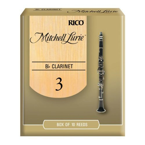 Mitchell Lurie Bb Clarinet Reeds #3, Box of 10