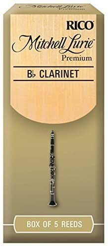 Mitchell Lurie Bb Clarinet Premium Reeds #4.5, Box of 5