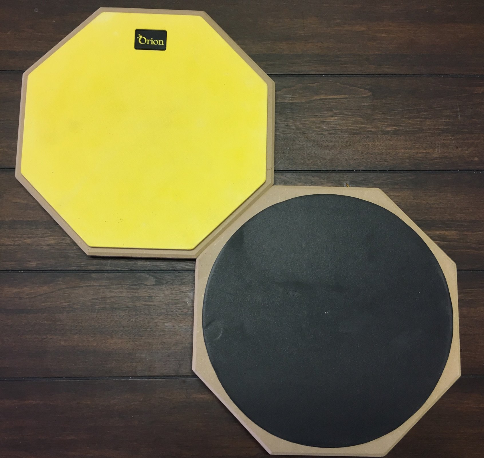 Orion 12 2-Sided Drum Pad - Yellow