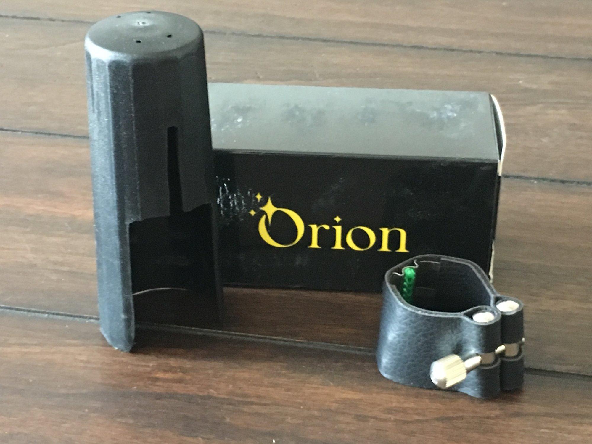 Orion Bari Sax Ligature & Cap