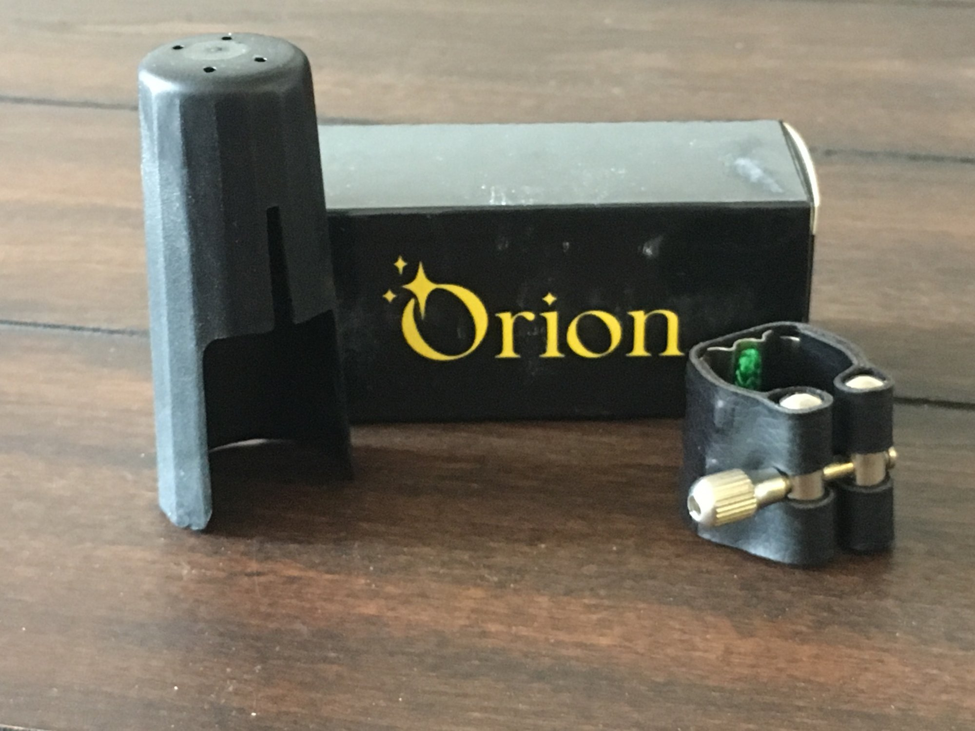 Orion Soprano Sax Ligature & Cap