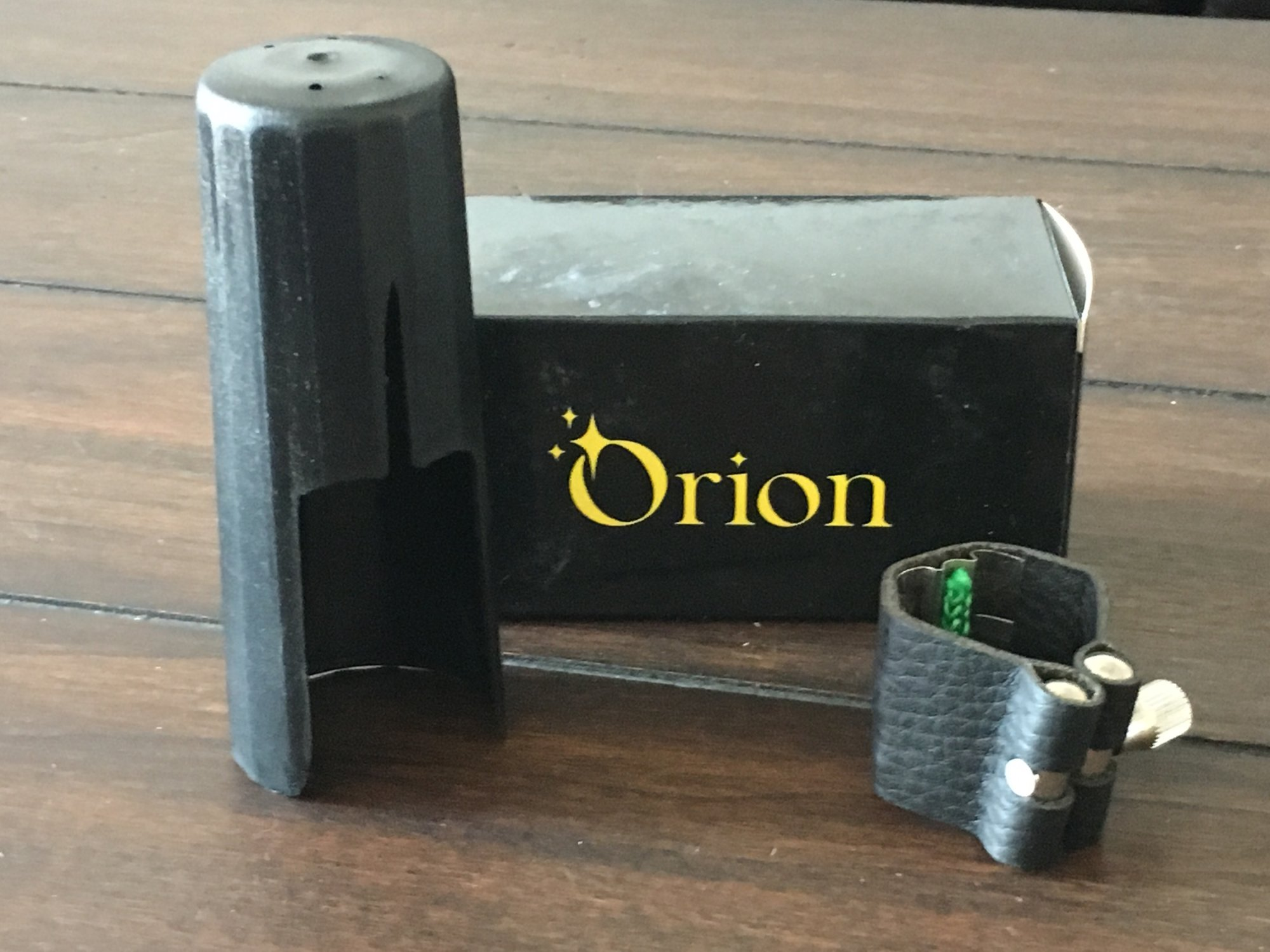 Orion Tenor Sax Ligature & Cap