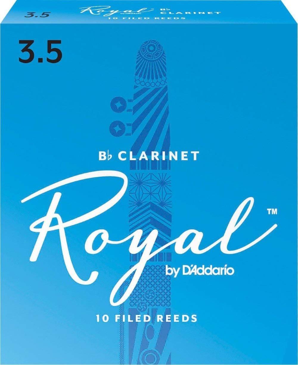 Rico Royal Bb Clarinet Reeds #3.5, Box of 10