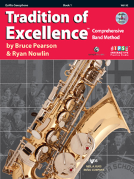 Tradition of Excellence, Book 1 - Eb Alto Sax