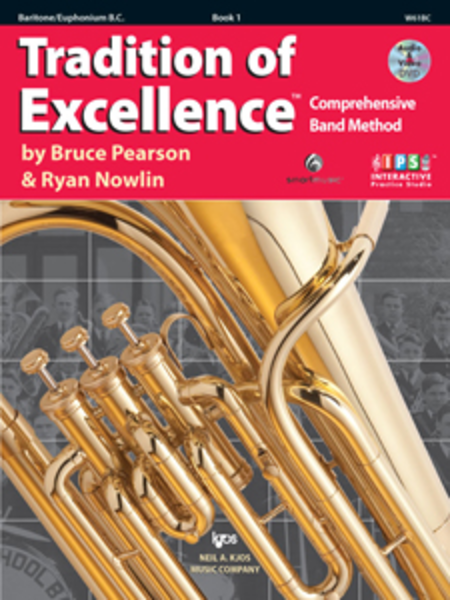 Tradition of Excellence, Book 1 - Baritone/Euphonium Bass Clef