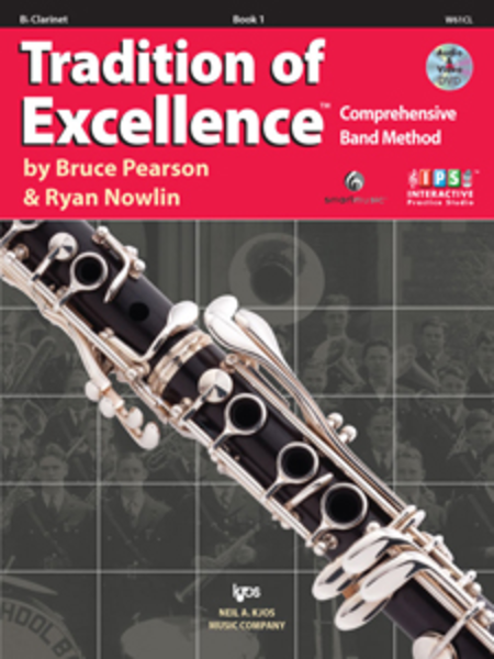 Tradition of Excellence, Book 1 -  Bb Clarinet
