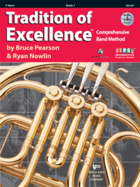 Tradition of Excellence, Book 1 - F Horn