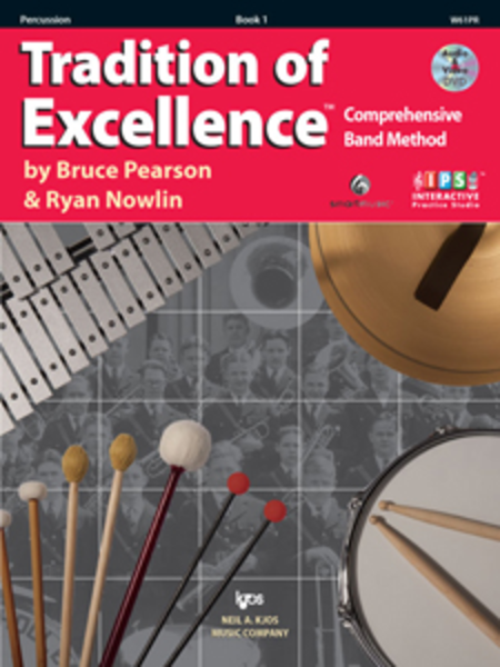Tradition of Excellence, Book 1 - Percussion