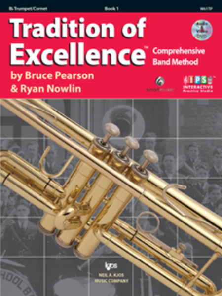 Tradition of Excellence, Book 1 - Bb Trumpet/Cornet