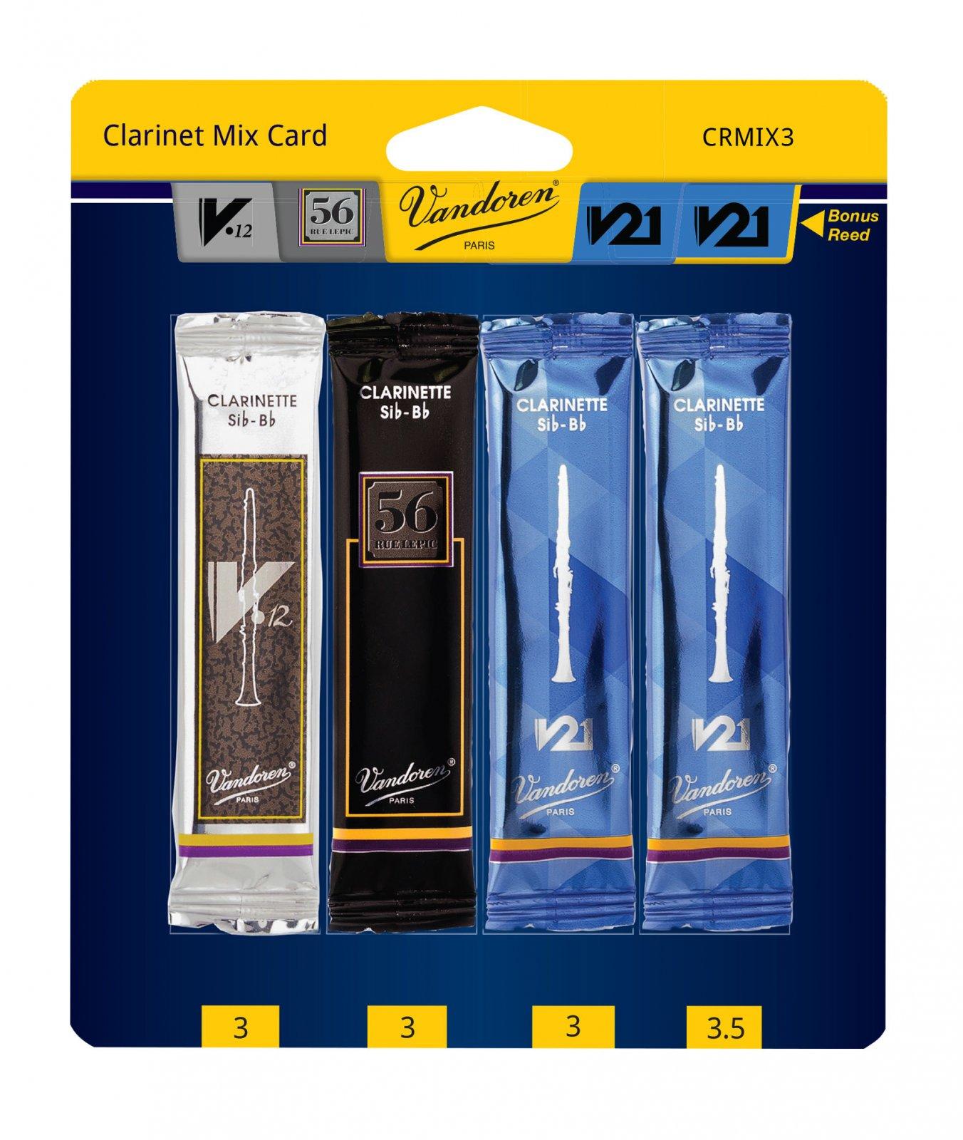 Vandoren Mix Card Bb Clarinet #3