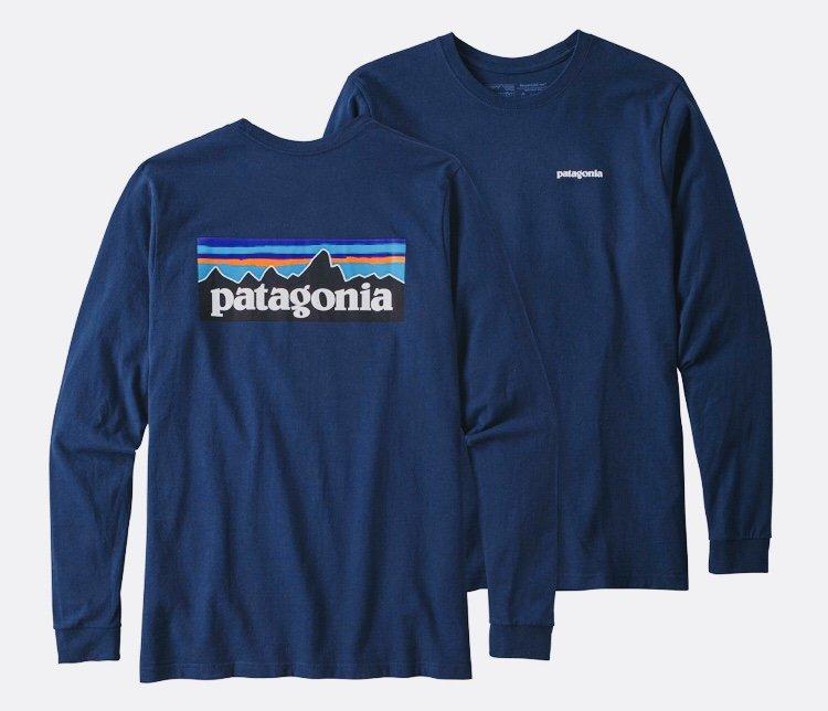 Patagonia t-shirts long sleeve